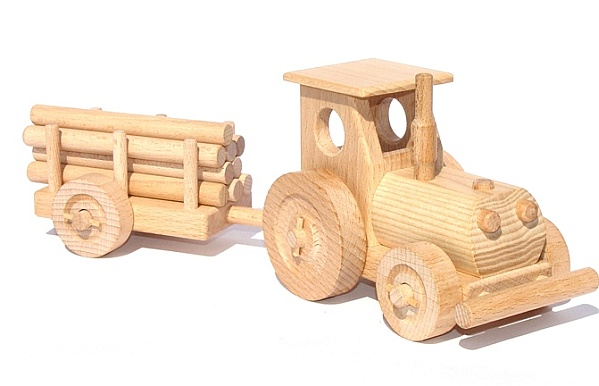Traktor spielzeug holzspielzeug für kinder lkw flugzeuge