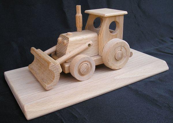 Traktor schlepper holz spielzeug holzspielzeug für