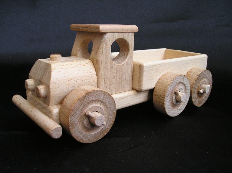 Kleinwagen klein lkw spielzeug holzspielzeug für