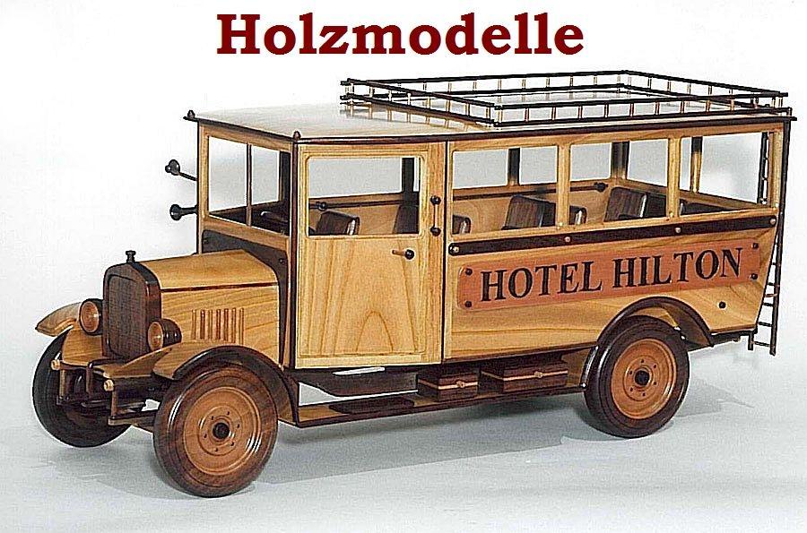 hotel bus hilton modelle aus holz holzspielzeug f r kinder lkw flugzeuge stra enbahn bus. Black Bedroom Furniture Sets. Home Design Ideas
