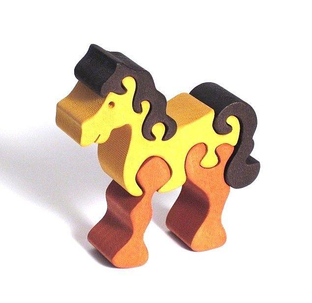 Tiere zoo Spielzeug Holz Würfel + puzzle - Holzspielzeug ...