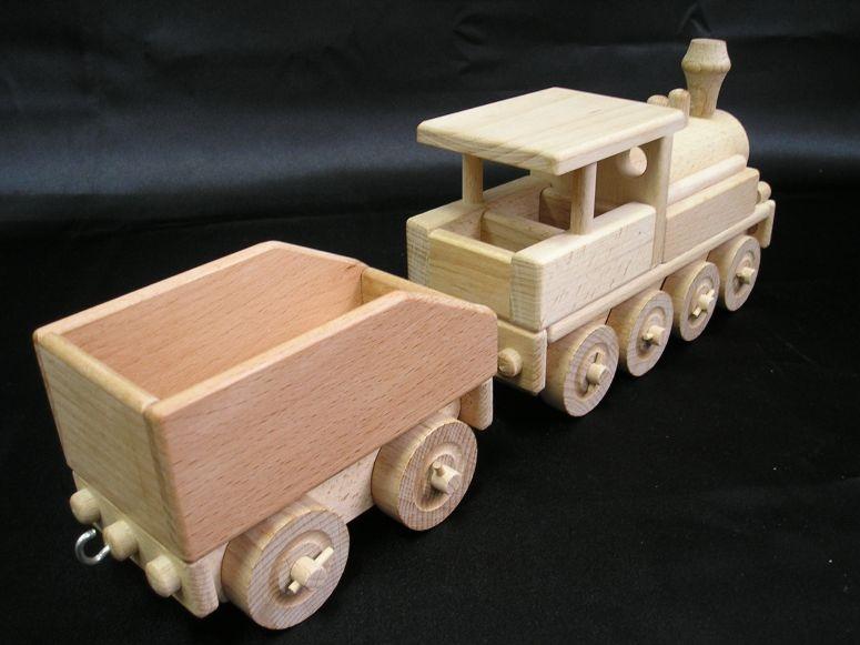 lokomotive aus holz spielzeug holzspielzeug f r kinder lkw flugzeuge stra enbahn bus. Black Bedroom Furniture Sets. Home Design Ideas