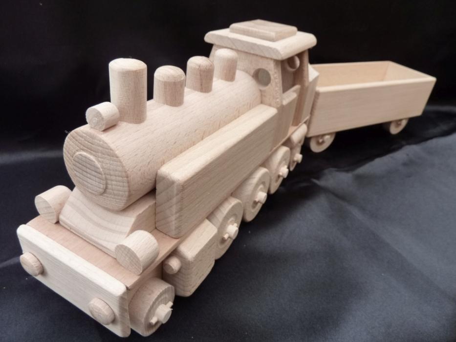 Dr dampflokomotive spielzeug aus holz holzspielzeug für