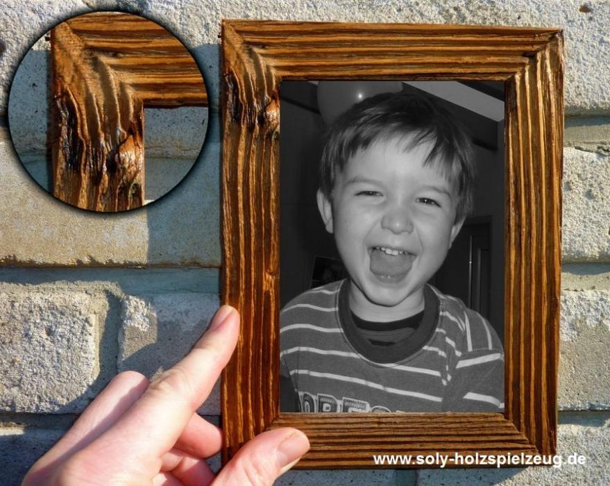 13x18 cm Fotorahmen aus Holz, natur - Holzspielzeug für Kinder|LKW ...