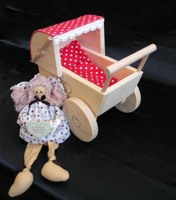 Puppenwagen Holz FUr 2 Jährige ~ Toller holzpuppenwagen  Holzspielzeug für Kinder LKW Flugzeuge