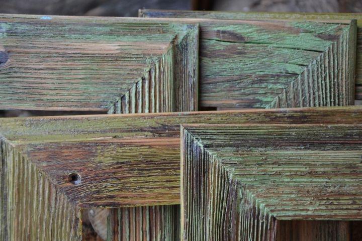 Patina Holz 18x24 cm fotorahmen aus holz natur holzspielzeug für kinder lkw