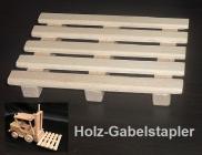 Paletten für Gabelstapler - Spielzueg aus holz