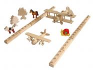 Bausätze Flughafen Flugzeuge Tiere