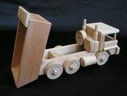 Holz LKW-Kipper II.Spielzeug