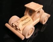 Rennwagen Bugatti Spielzeug aus Holz