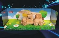 Holzkranwagen Geschenk Spielzeug