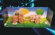 Waldtraktor mit Anhänger
