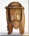 Jesus Kristus Statue aus Holz