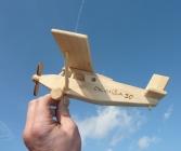 Holzflugzeug Pilatus Spielzeug