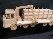 Holz-Transporter LKW 60 cm, Geschenke Holzspielzeug
