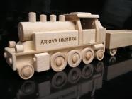 DR Dampflokomotive Spielzeug aus Holz