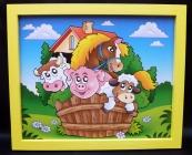 Bilder für's Kinderzimmer - Tieren
