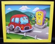 Bilder für's Kinderzimmer - Auto