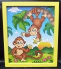 Bilder für's Kinderzimmer - Affen