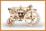 3D Holzpuzzle Traktor