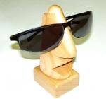 Brillenhalter, Brillenständer aus Massivholz