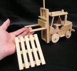 Holz Gabelstapler für Kinder, Geschenk
