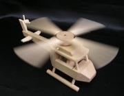 Holzhelicopter für Kinder zum Spielen, Holzspielzeug