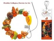 FireWire® flexibler grill spiess double Pack