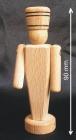 Kleine Holzsoldat, 9 cm