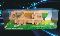 Teleskopic LKW Holzspielzeug