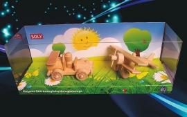 holzspielzeug-set