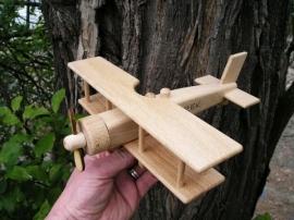 Großes Holzflugzeug für Kinderen