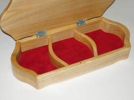 Schmuckkasten aus Holz