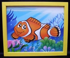 Fische an der Kinderzimmer-Wand