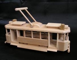 Die historische Straßenbahn Spielzeug