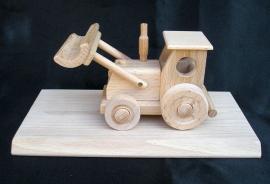 Traktor Schlepper Holz Spielzeug