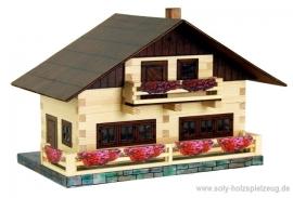 Alpenhaus Baukasten holz Modele