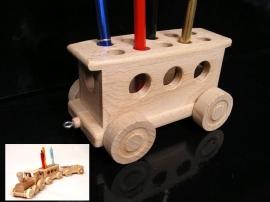 Wagon Schreibständer fur Kinder Zug