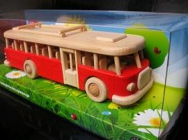 Reisen Bus Spielzeug groß