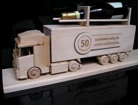 Geschenkflasche Truck, LKW Flasche