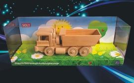 Lkw-spielzeug aus holz