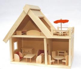 Holz pupenhause
