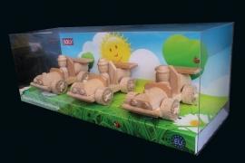 Das Spielzeugautos set