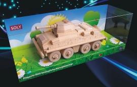 Holzspielwaren transportpanzer PUMA