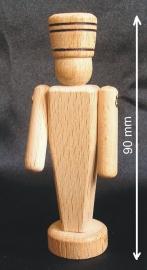 Holzspielzeug-Soldat