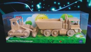 Bulldozer und LKW Spielzeug Set