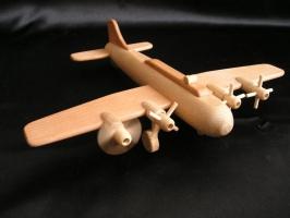 Die Boeing Holzflugzeug