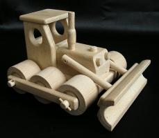 Bulldozer Holz-Spielzeug Geschenke