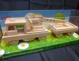Draisine Spielzeug - Züge aus Holz