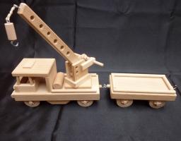 Draisine Holzspielzeug - Züg aus Bahnstation